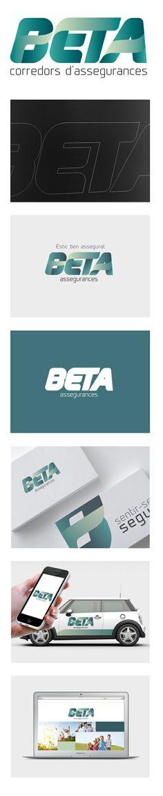 Nou logotip Beta Assegurances
