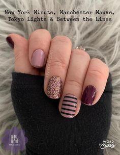 Nail Polish Combinations, Nail Color Combos, Nail Colors, Funky Nails, Cute Nails, Pretty Nails, Sassy Nails, Fingernail Designs, Nail Polish Designs