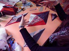 textile collage - Liana B.