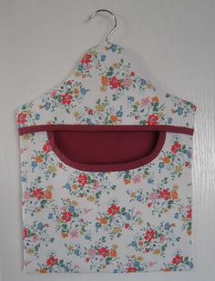 Peg bag in Kidston floral fabric fully lined £8.00