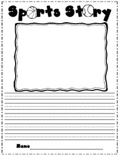 Lots of different writing idea templates to get your students started!