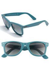 Ray-Ban 'Semi Rimless Aviator' 59mm Sunglasses | Nordstrom