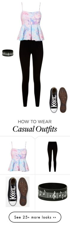 """Casual"" by maceywampler on Polyvore featuring Givenchy and Converse"