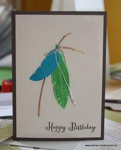 Federn zum Geburtstag- Indianer?!