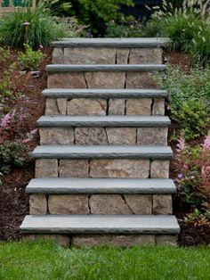 Hardscape Features: Garden Steps Design Ideas