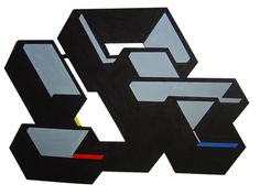 "Title : "" Encaje 4"" Acrilic on cut paper  pasted on carboard. 100 x 70  cm. Signed: Alfonso Cintado 2010. 750 $"