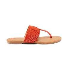 Introducing Stitch Fix Shoes: Fringe T-Strap Sandals