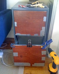 Before and After: Filing Cabinet Makeover | OMFG