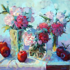 Profusion by Trisha Adams Oil ~ 30 x 30
