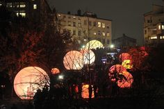 Festival of Light, Lyon, France By Canadian Collective Lucion Media.
