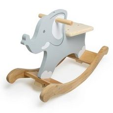 Wooden rocking elephant!