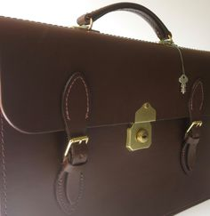 Leather Satchel  Briefcase by AustralianSatchel on Etsy
