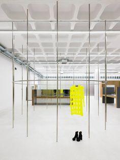 Gonzalez Haase AAS Has Transformed A Warehouse Into Tem-Plate, A Sleek New Designer Concept Store - IGNANT Plate, Atelier Architecture, Interior Architecture, Jorge Gonzalez, Creative Area, Roller Doors, Exhibition Space, Retail Space, Dezeen