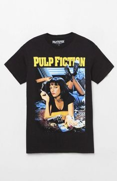 PacSun null Pulp Fiction T-Shirt t-shirts Funny t-shirts Thrift Stores t-shirts pattern t-shirts Country t-shirts summer 90s Shirts, Cool T Shirts, Movie Shirts, Retro T Shirts, Vintage T Shirts, Band Shirts, Pulp Fiction Shirt, Camisa Vintage, Pacsun Mens