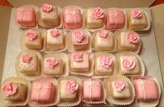 Baby Shower - Petit fours for a baby shower.