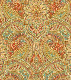 Home Decor Print Fabric-Waverly Swept Away Berry