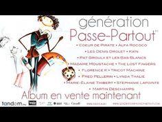 Génération Passe-Partout - P. Brault / M. Robidoux / C. Fred Pellerin, Partition, Lost, Cartoon Tv, Rococo, Album, Music Songs, Techno, Memes