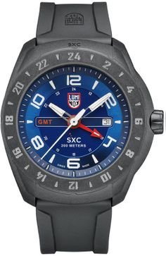 Luminox SpaceX watch with two time zones. Great for travellers.