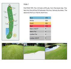Golf Course Hole 1 ~ Isla Del Sol Yacht & Country Club ~ 6000 Sun Boulevard, St Petersburg, Florida 33715 ~ 727.906.4752 ~ www.isladelsolycc.com