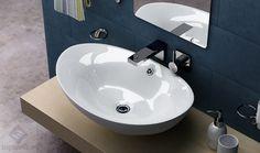Rea Wendy umywalka nablatowa 59x38,5 cm, biała REAWENDY - Topsanit.pl
