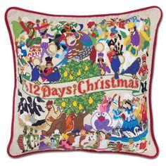 Classic Christmas Carols, 12 Days Of Christmas, Big Pillows, Throw Pillows, Chalet Chic, Christmas Pillow, Just Giving, Fall Decor, Decorative Pillows