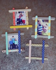 7 Cool Creations to Make with Popsicle Sticks. Click here to View more Kid Craft Ideas.