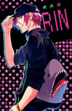 <3 Matsuoka Rin ! <3 (Iwatobi Swim Club/ Free!)