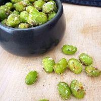 Crispy Parmesan Edamame (Soy Beans) - Gastromony