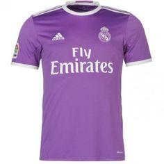 Real Madrid 16-17 Udebanetrøje Kortærmet.  http://www.fodboldsports.com/real-madrid-16-17-udebanetroje-kortermet-1.  #fodboldtrøjer