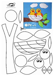 ideas bird theme for toddlers art projects for 2019 Bird Nest Craft, Bird Crafts, Foam Crafts, Paper Crafts, Craft Activities For Kids, Preschool Crafts, Crafts For Kids, Cute Mothers Day Ideas, Vogel Quilt