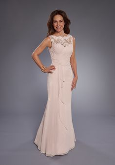 Beautiful Mothers by Mary's M2742 Black Mother Of The Bride Dress