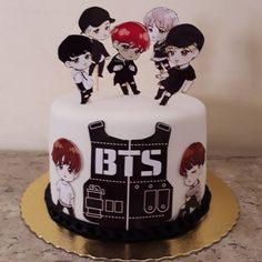 Army's Birthday, Birthday Parties, Bts Cake, Brithday Cake, Happy Birthday Printable, Cookies And Cream Cheesecake, Bts Birthdays, Teen Cakes, Bts Merch