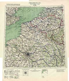 Awesome Russian Soviet Military Topographic Maps Map - Military topographic maps