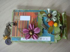 Recycled Packaging Mini Album – Aideen Fallon