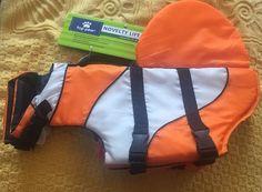 Novelty Life Jacket Dog Large Colorful New Rescue Handle Reflects Life Vest    eBay