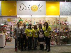 DekorArte en Foamy By Diana Pérez y Drisol Artesanatos  presentes en la Mega Artesanal Brasil 2015