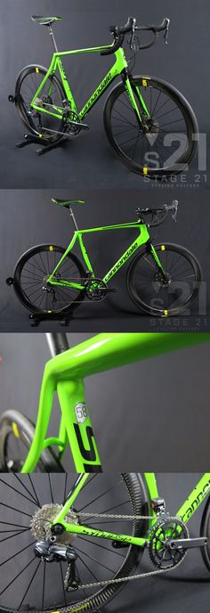 Bicycles 177831: 2016 Cannondale Synapse Ultegra Di2 Disc, Mavic Cosmic Carbon Green Black - 58Cm -> BUY IT NOW ONLY: $3399.99 on eBay!