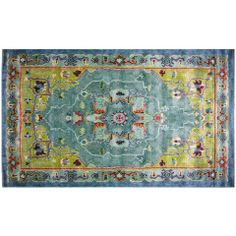 "RUG STUDIO 96"" x 60"" Andalusia Rug in Blue - Beyond the Rack"