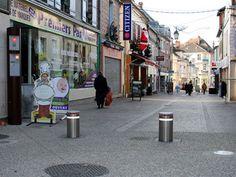 Balizadores retráteis serão instalados na Rua Sete de Abril (Foto: Divulgação)