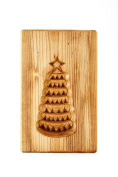 X-MAS TREE. Wooden mold for pryaniki and by PryanikiAndCookies