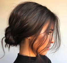 Hairstyles for Women Fall 2019 - Hairstyles # HairstylesFor . - All about Hair - Hair Long Hairstyles, Pretty Hairstyles, Wedding Hairstyles, Messy Bun Hairstyles, Two Buns Hairstyle, Fashion Hairstyles, Holiday Hairstyles, Hairstyle For Women, Hairstyles For Short Hair Formal
