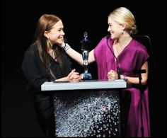 MK & Ash grab a CFDA for Womenswear Designer(s) of the Year for The Row - June 2012 #TheRow