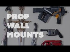 Two Ways to Display Your Props on the Wall - Punished Props