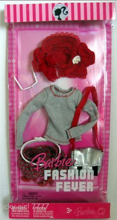 2007 Barbie Doll Outfit Clothing Fashion Fever L3369 0789 Jean Jacket Boots | eBay