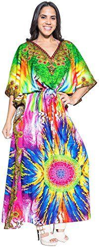 5f8a1a7d31c3d Caftan Cover Up Dresses For Womens Long Maxi Dress Robe D... https