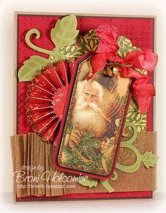 CTD122 Vintage Santa