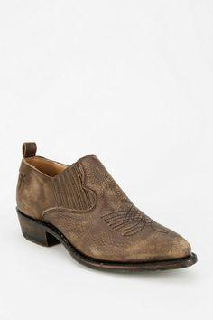 Frye Billy Cut-Off Ankle Boot. Perfect festival wear...