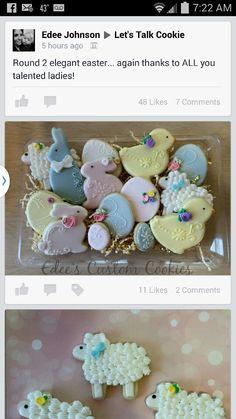 Beautiful Easter cookies