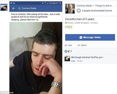 Woman Puts Cheating Boyfriend Up For Sale on Facebook, See Interesting Details (Photo)