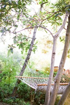 Garden Visit with Los Angeles Jeweler Kathleen Whitaker in Echo Park, Rope Hammock | Gardenista